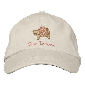 Tartaruga indiana da estrela (bordado) boné bordado