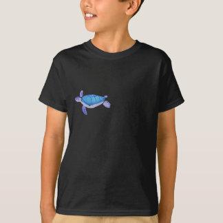 Tartaruga roxa camiseta