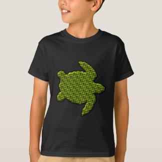 Tartaruga Textured Camiseta