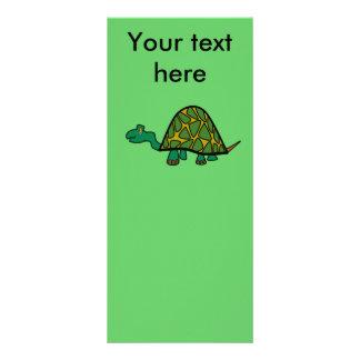Tartaruga verde pequena 10.16 x 22.86cm panfleto