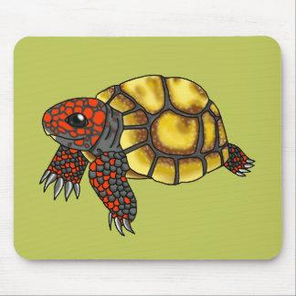 Tartaruga Vermelho-Pagada Cereja-Cabeça Mousepad