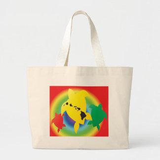 Tartarugas da reggae de Havaí Bolsa De Lona