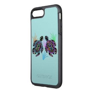 Tartarugas de mar capa para iPhone 7 plus OtterBox symmetry