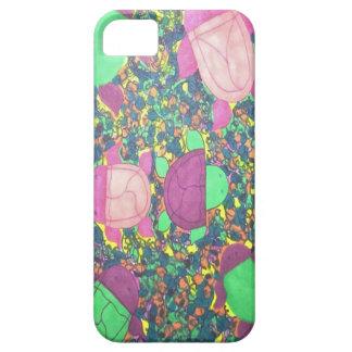 Tartarugas do arco-íris nas rochas capa barely there para iPhone 5