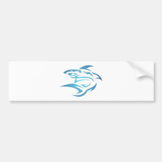 Tattoo tubarão shark adesivo para carro