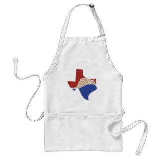 Tatu de Texas - design do estado de TX Avental