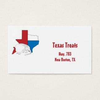 Tatu do orgulho de Texas Cartão De Visitas