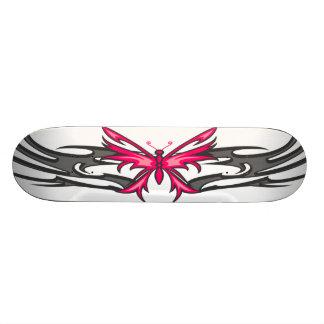tatuagem da borboleta shape de skate 18,7cm
