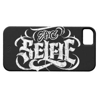 """""""Tatuagem da rotulação de Selfie épico"""" - caso do Capas Para iPhone 5"""