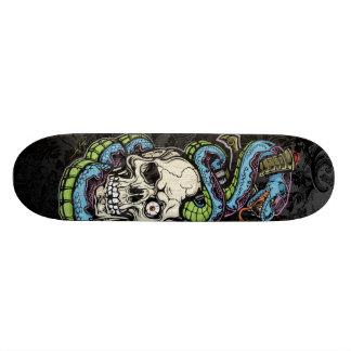 Tatuagem do crânio de Snak Skate Personalizado