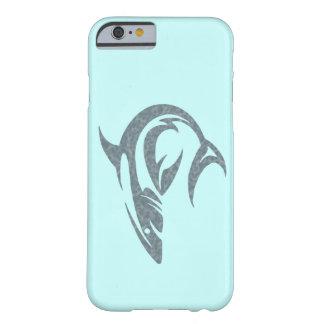 Tatuagem do tubarão capa barely there para iPhone 6