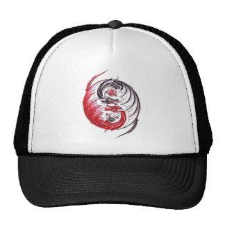 Tatuagem legal de Yin Yang do dragão Boné