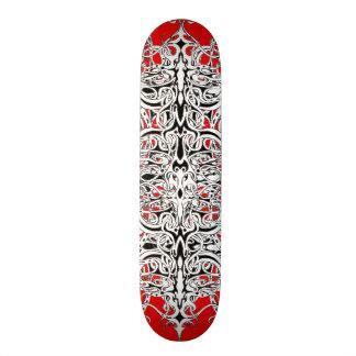 Tatuagem tribal do império shape de skate 19,7cm