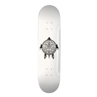 Tatuagem tribal do protetor da tartaruga shape de skate 20cm