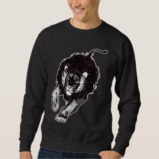 Tau do roupa dos leões (preto e branco) moletom