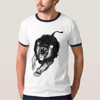 Tau do roupa dos leões (preto) t-shirts