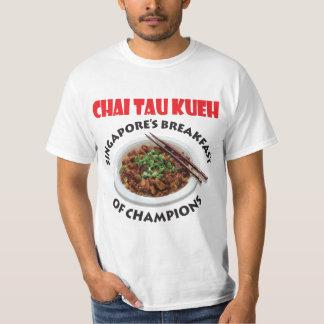 Tau Kueh v2 de Singapore Chai - tecido claro Camiseta