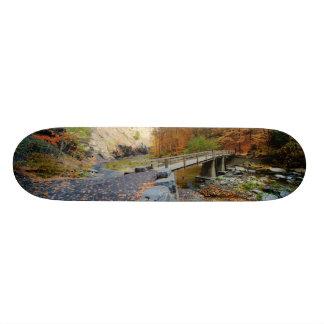 Taughannock cai parque estadual shape de skate 18,7cm