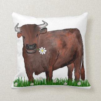 Taurus bonito Bull e coxim do zodíaco das Almofada