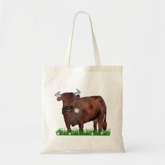 Taurus bonito Bull e saco do zodíaco das Bolsa Tote