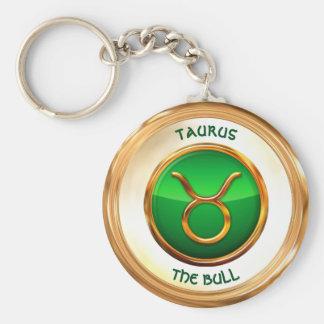 Taurus - o sinal do zodíaco de Bull Chaveiro