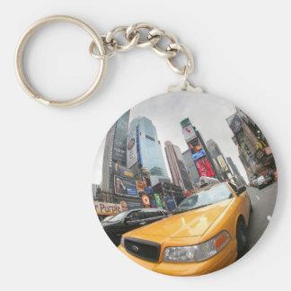 Táxi amarelo da Nova Iorque Chaveiros