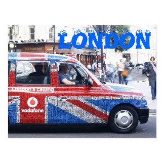 Táxi de Londres Cartão Postal