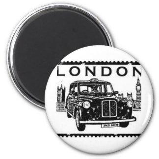 Táxi de Londres Ímã Redondo 5.08cm