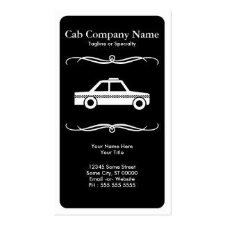 táxi de táxi da modificação cartão de visita