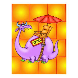 Táxi do dragão panfleto