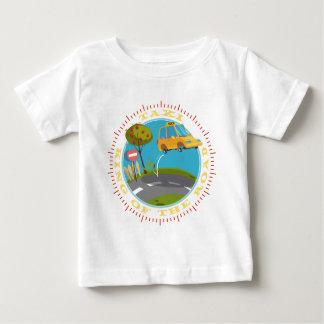 Táxi driver comic king of the road camiseta para bebê