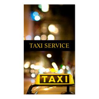 Táxi, táxi, motorista, cartão de visita do transpo