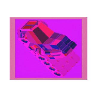 Táxis convencionais de Truckin do espaço do Impressão Em Canvas