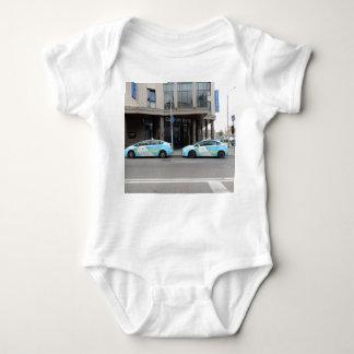 Táxis de táxi em Vilnius Lithuania Body Para Bebê