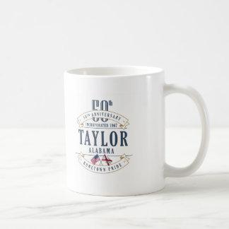 Taylor, caneca do aniversário de Alabama 50th