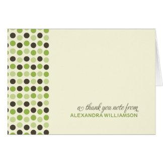 {TBA} Cartões de agradecimentos na moda das