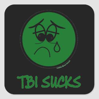 TBI suga Adesivo Quadrado