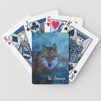 TCWC - Natal azul do lobo Jogos De Baralhos
