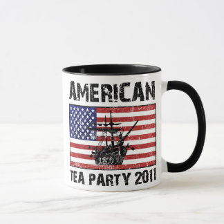 Tea party americano 2011 caneca