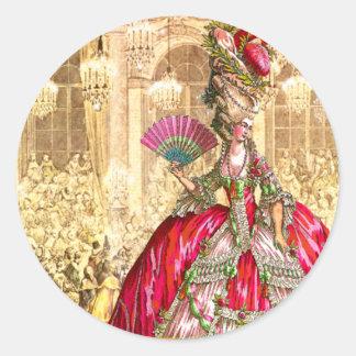 Tea party do Natal de Marie Antoinette Versalhes Adesivo