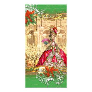 Tea party do Natal de Marie Antoinette Versalhes Cartão Com Foto