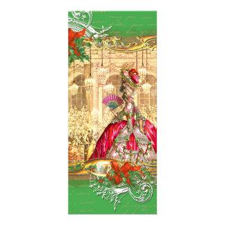 Tea party do Natal de Marie Antoinette Versalhes Convite