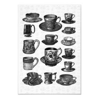Tea party V2 do Victorian Convite