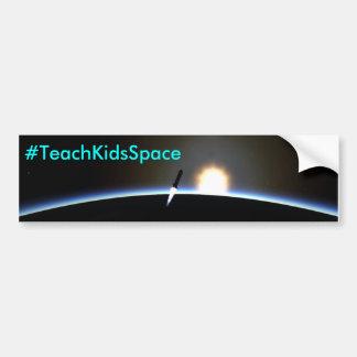 TeachKidsSpace - nascer do sol Rocket Adesivo Para Carro