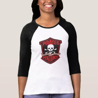 Teatro da música dos Lamplighters os piratas de Camiseta