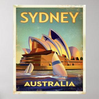 Teatro da ópera de Sydney Posters