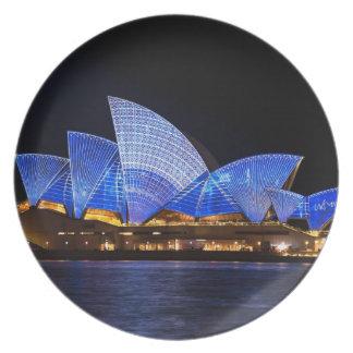 Teatro da ópera Sydney Austrália Prato