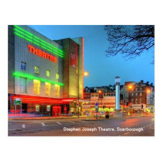 Teatro de Stephen Joseph, cartão de Scarborough