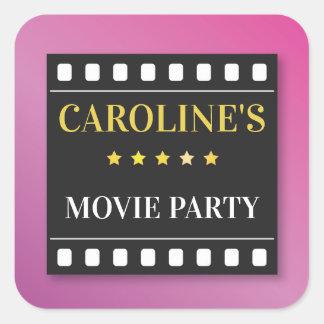 Teatro do bilhete do filme de filme das etiquetas