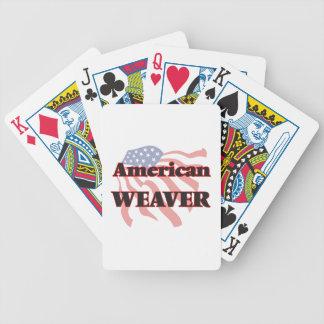 Tecelão americano jogos de cartas